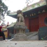 Felix Fechner vor Shaolin Tempel