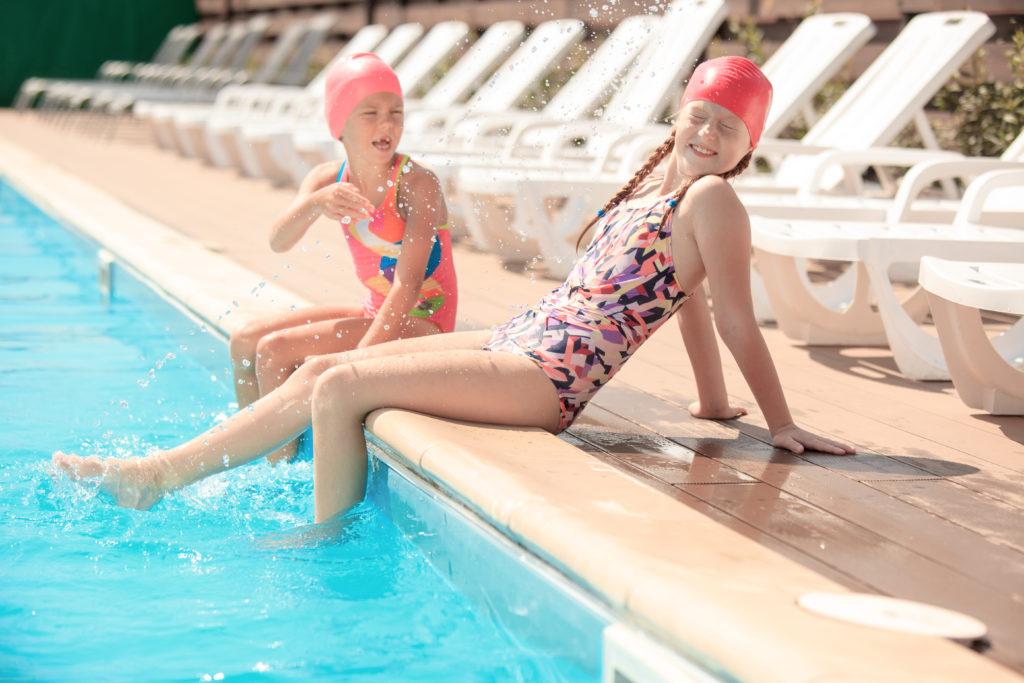Kindersport Schwimmen