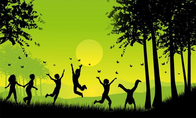 Kindersport Wald